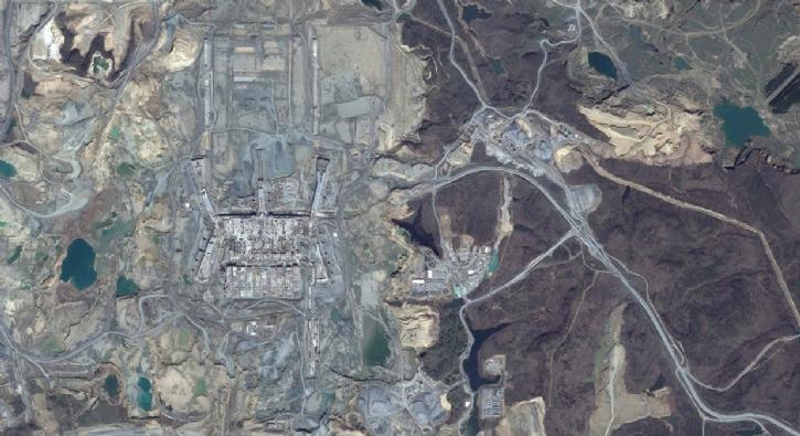 Heyecanlandıran fotoğraflar! Uydu görüntüleriyle gün yüzüne çıktı