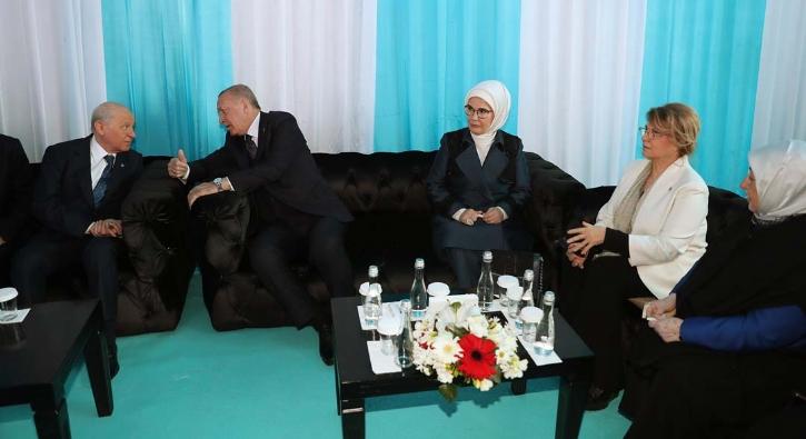 Çiller ve Ağar'dan Cumhur İttifakı'na tam destek