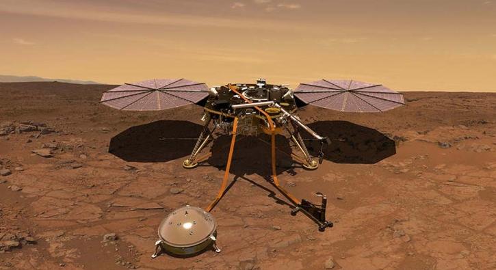 NASA paylaştı! Mars'ta ilk deprem