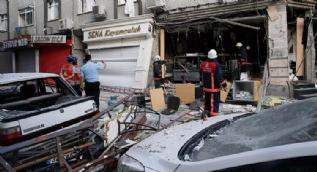 Bakırköy'de bir iş yerinde patlama