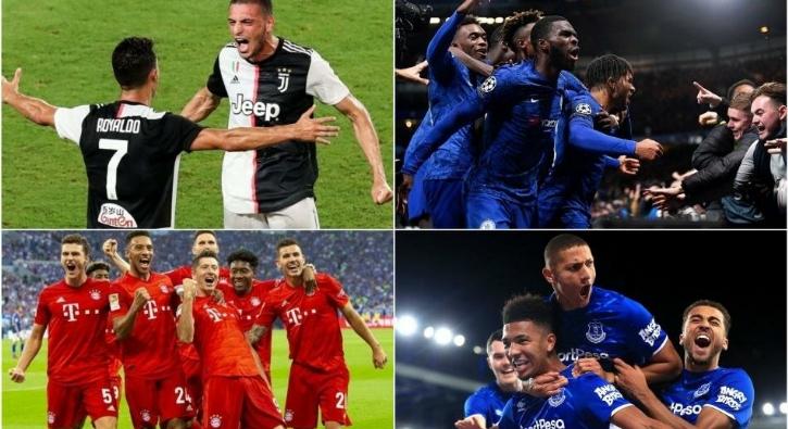 Avrupa'nın en çok maaş ödeyen 20 kulübü!