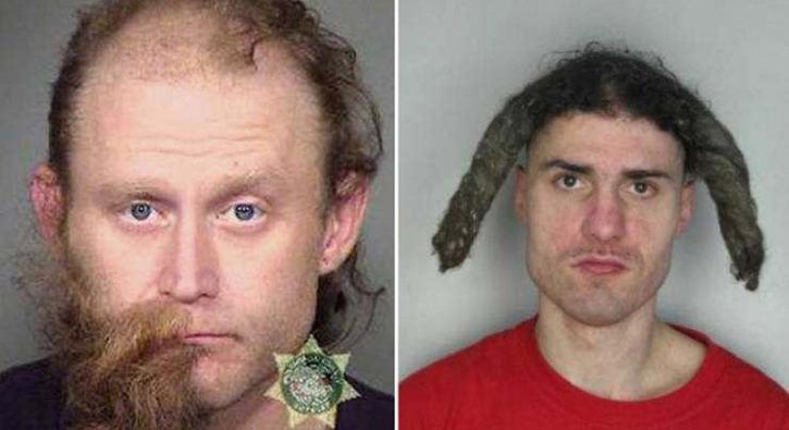 Polisleri şaşkına çeviren suçlular