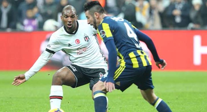 Beşiktaş - Fenerbahçe derbisinden kareler