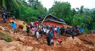 Sri Lanka'da aşırı yağışlar felakete neden oldu