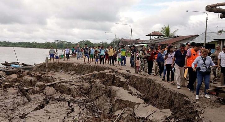 Peru'daki 8 büyüklüğündeki depremin ardından ilk kareler
