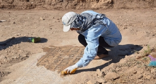 Çiftçinin bulduğu mozaiğin yerinde kilise olduğu ortaya çıktı