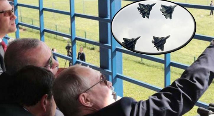 İşte Başkan Erdoğan'la Putin'in konuştuğu Su-57'nin gösterisi ve özellikleri