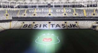 Vodafone Stadyumu'nda sürpriz görüntü!