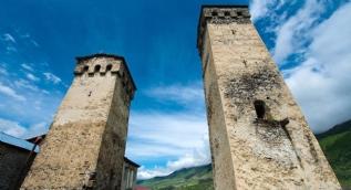 En değerli eşyaların saklandığı Svaneti kuleleri