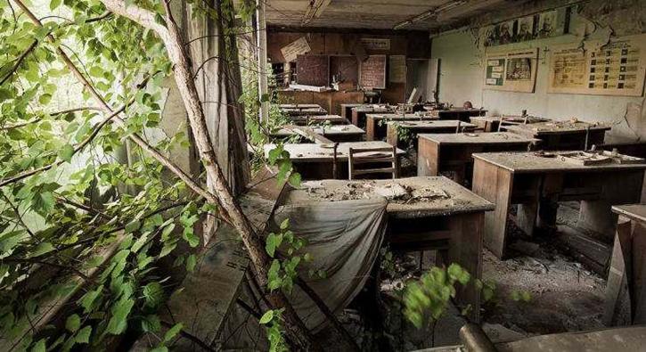 Yüzlerce kişinin öldüğü Çernobil'den kareler