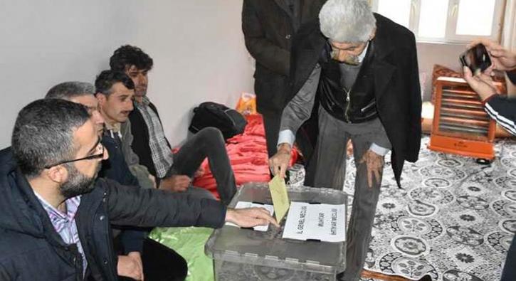 Türkiye'nin en erken biten seçimi Batman'da