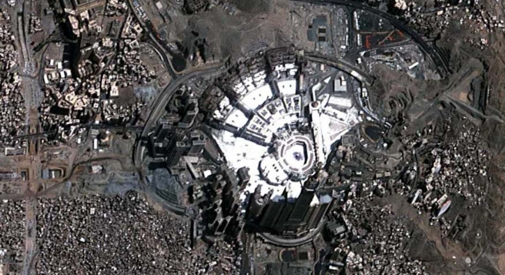 Yerli uydumuz GÖKTÜRK-2, Mekke ve Medine'yi görüntüledi
